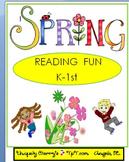 SPRING - Reading Fun  K-1st