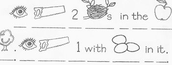 PUZZLE: SPRING REBUS Phonics, Decoding, Encoding, Homophones - to, too, two