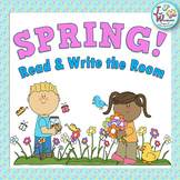SPRING Write the Room Spring Literacy Activities and Worksheets