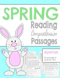 SPRING Reading Comprehension Passages ~ March ~ April ~ Easter Activities