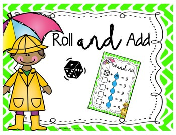 SPRING Roll & Add - Mental Math