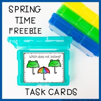 SPRING TASK CARDS FREEBIE