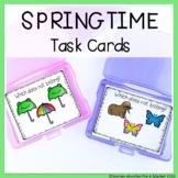 SPRING TASK CARDS PRINTABLE AND NO PRINT GOOGLE SLIDES