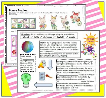 SPRING-TASTIC Easter Activity Pack