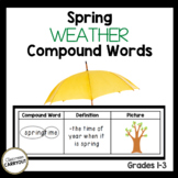 Compound Words SPRING WEATHER