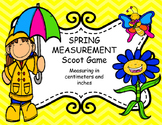 SPRING Themed MEASUREMENT SCOOT GAME