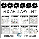 SPRING Vocabulary Unit (sped/autism/elementary)