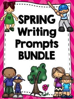 SPRING WRITING BUNDLE-St. Patrick's-Earth Day-Mother's/Father's Day-Memorial Day