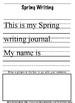 SPRING WRITING & ILLUSTRATION JOURNAL