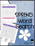 SPRING Word Search FREE