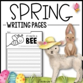 SPRING Writing Pages - Creative Writing Prompts