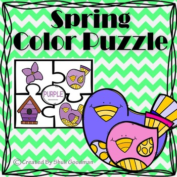 SPRING color puzzles