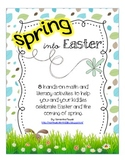 SPRING into Easter (8 Math and Literacy Centre Activities)