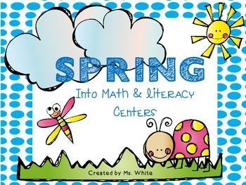 SPRING into Math & Literacy {15 Common Core Centers & Bins}