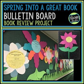 Spring Bulletin Board Ideas Book Activities