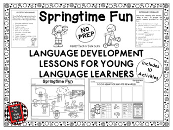 SPRINGTIME FUN Language Development Lessons for Young Language Learners