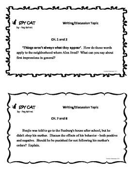 SPY CAT Quick Quizzes