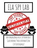SPY LAB ELA Transformation Experience