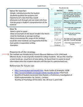 SQ3R Informational Handout