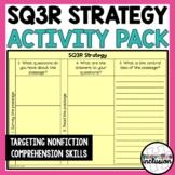 SQ3R Nonfiction Comprehension Skills Activity Pack