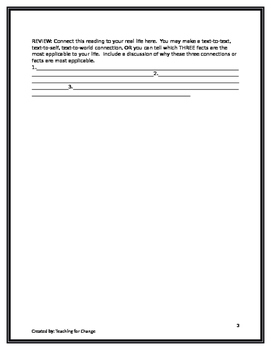SQ3R: Survey, Question, Read, Recite, Review Reading Strategy Graphic Organizer