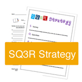 SQ3R poster & worksheet