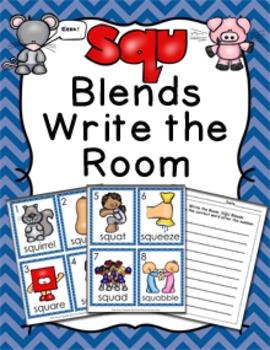 SQU Blends Write the Room Activity