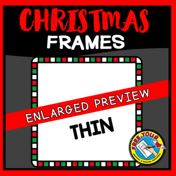 SQUARE CHRISTMAS CLIPART BORDERS AND FRAMES