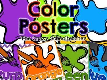 SQUARE Color Posters {Paint}
