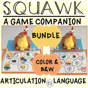 SQUAWK - GAME COMPANIONS, LANGUAGE & ARTICULATION (SPEECH & LANGUAGE THERAPY)