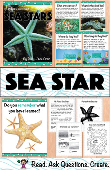 All About Sea Stars Nonfiction Unit
