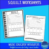SQUILT Worksheets