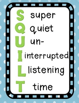 SQUILT Poster