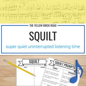 SQUILT: active listening worksheets for music