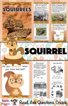 All About Squirrels Nonfiction Unit