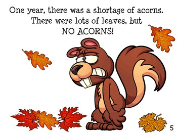 SQUIRREL NUTS FALL ACTIVITIES