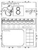 SQUIRRELS Number Practice Printables Fall - Recognition, Tracing, Counting 1-20