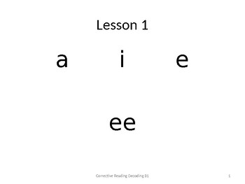 Corrective Reading Worksheets & Teaching Resources | TpT
