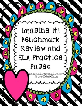 IMAGINE IT Benchmark test 4 practice pages and Review