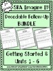 Imagine It Decodable and Spelling Word Work Bundle