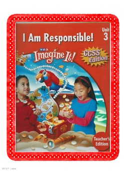 SRA Imagine It First Grade Unit 3 I Am Responsible Game Cards