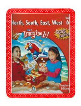 SRA Imagine It First Grade Unit 6 North South East West Ga
