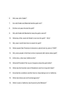 SRA Imagine It   Grade 4     STRIKING IT RICH        Guided Reading Questions