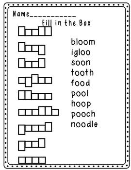 Imagine It Spelling Word Work Units 1-6