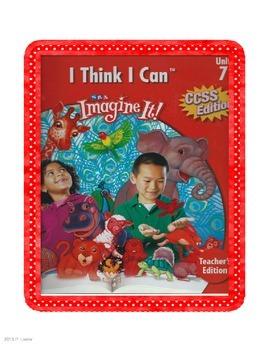SRA Imagine It Unit 7 I Think I Can Game Cards