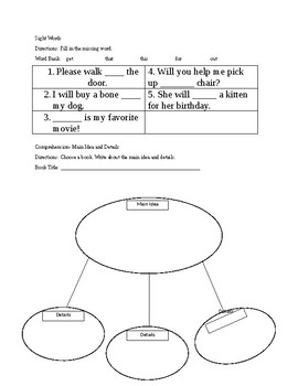 SRA Imagine it! Unit 3 Lesson 1-5 Reading Homework
