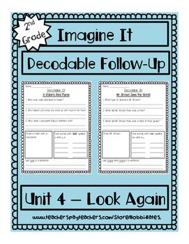 Imagine It Unit 4 Decodables Worksheets