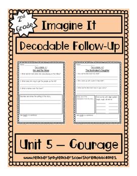 Imagine It Unit 5 Decodables Worksheets