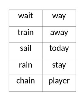 SRA Imagine it! Unit 5 Lesson 11-15 Spelling Boxes