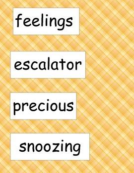 SRA ImagineIt! 2nd Grade Vocabulary Words Unit 1